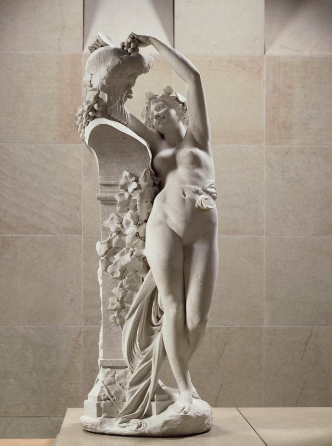 Bacchante par Carrier-Belleuse