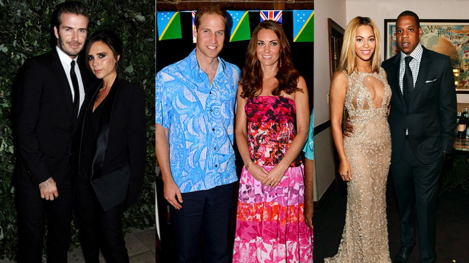 The Definitive Ranking Of Celebrity Power Couples