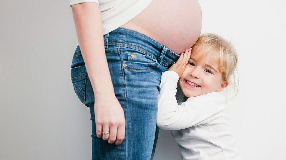 Ihr ungeborenes Kind hat einen Herzfehler: Der rührende Brief einer werdenden Mama an ihre dreijährige Tochter