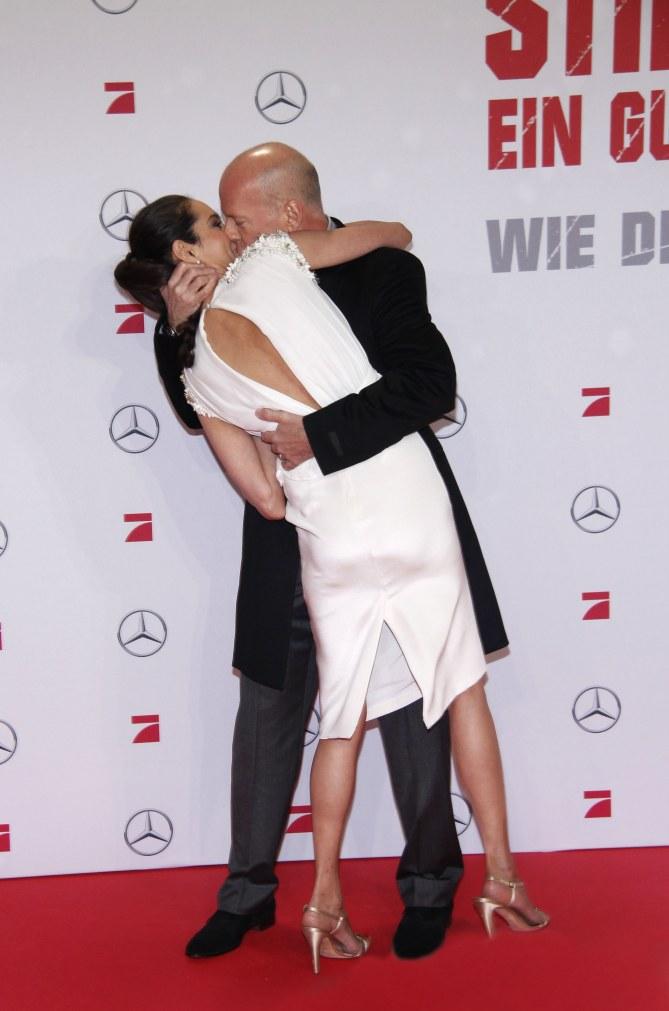 Bruce Willis mit Frau Emma