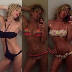 Alessia Marcuzzi in bikini