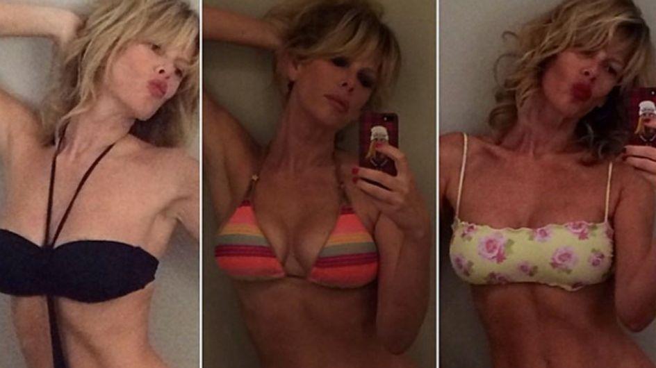 Alessia Marcuzzi si prepara per l'estate. Le foto della showgirl in bikini su Instagram