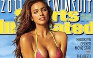 Irina Shayk, pillada en topless durante su posado para la revista `Sport Illustr