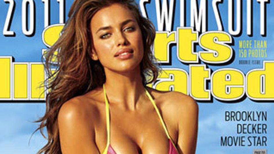 Irina Shayk, pillada en topless durante su posado para la revista `Sport Illustrated´