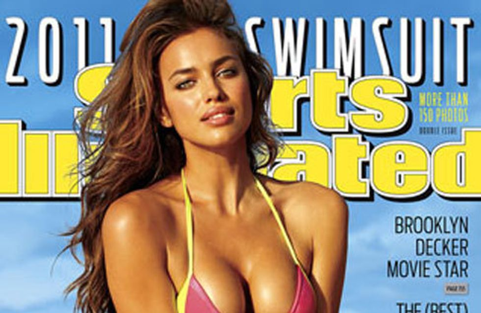 Irina Shayk, pillada en topless durante su posado para la revista `Sport Illustrated´