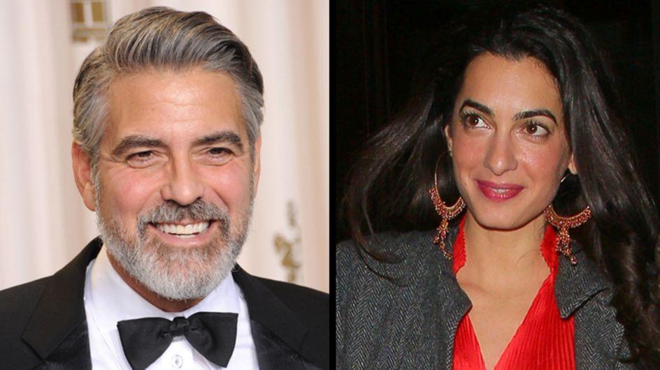 George Clooney et Amal Alamuddin : La date du mariage déjà fixée