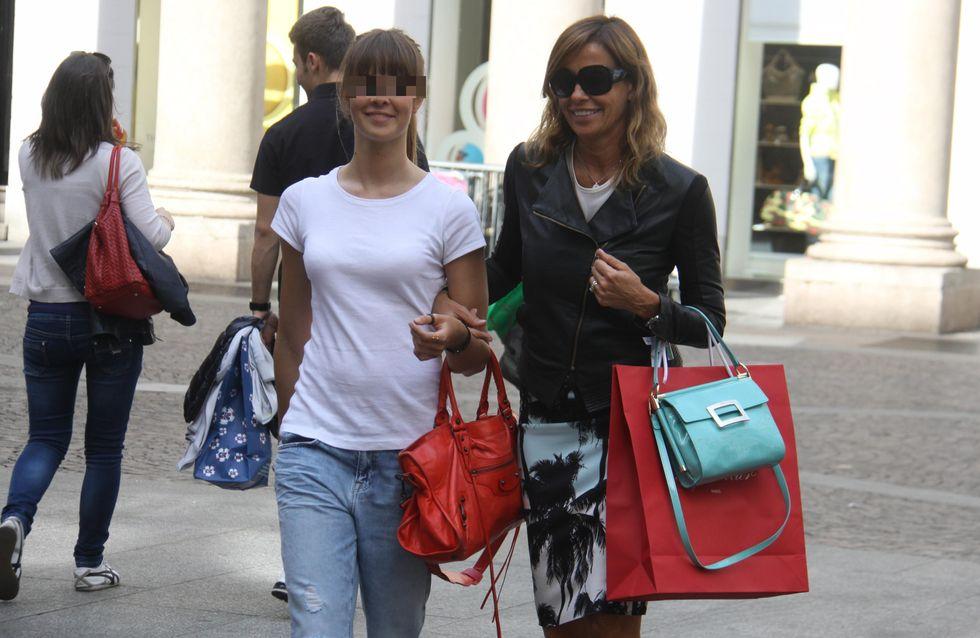 Cristina Parodi: shopping con la figlia Benedetta. Le foto