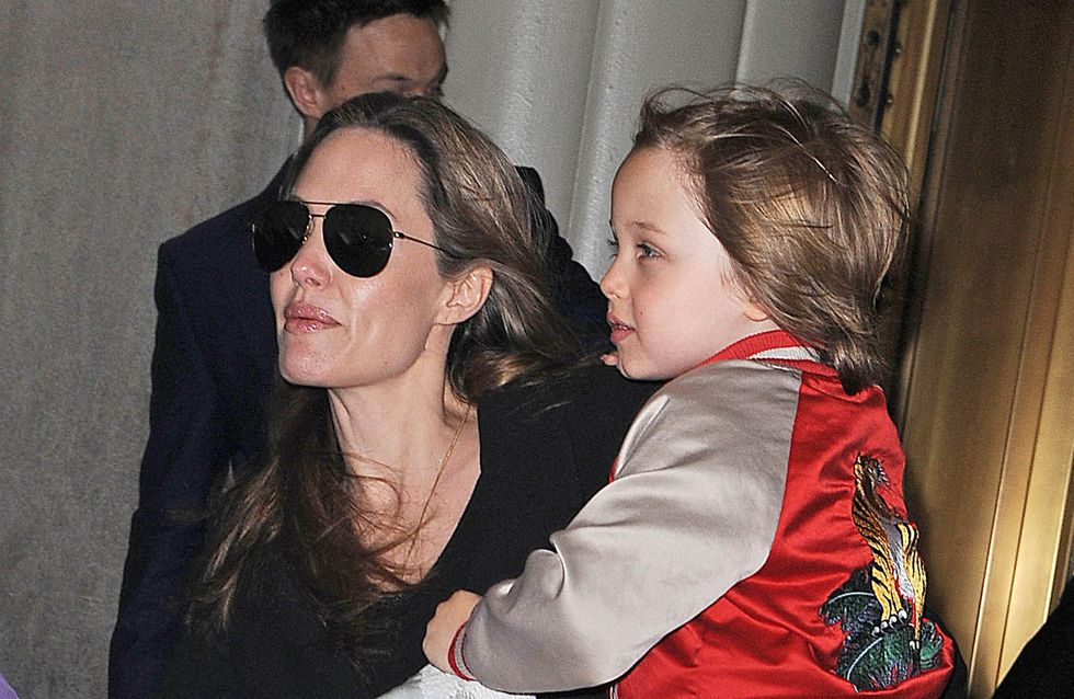 Ihre Kinder bringen Angelina Jolie um den Schlaf