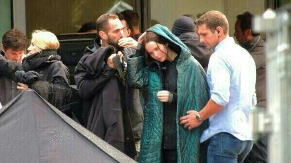 Hunger Games 3 : Jennifer Lawrence est à Paris pour le tournage (Vidéo)