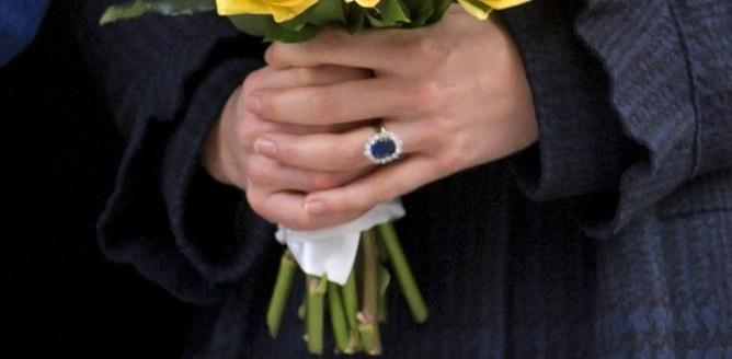 La bague de fiançailles de Kate Middleton