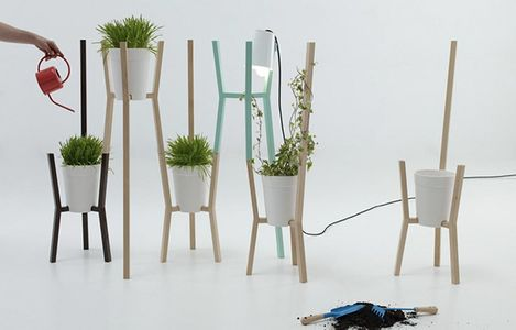 Roots: orto in casa modulare