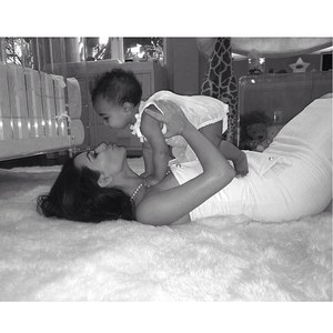 Kim Kardashian et sa petite North