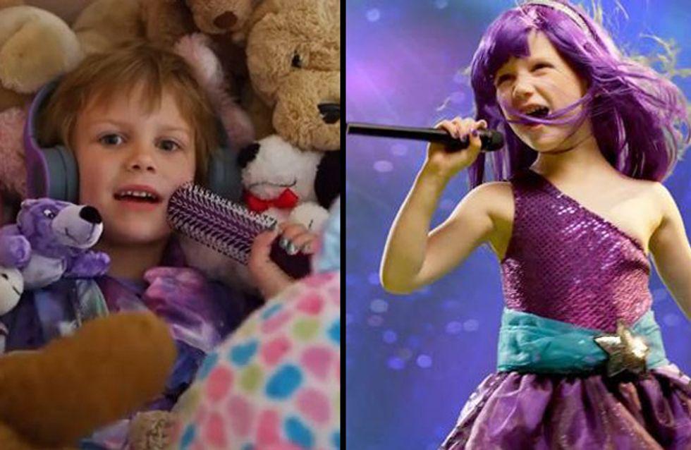 A 5 anni sconfigge il cancro e fa sentire al mondo il suo coraggio a ritmo di Roar
