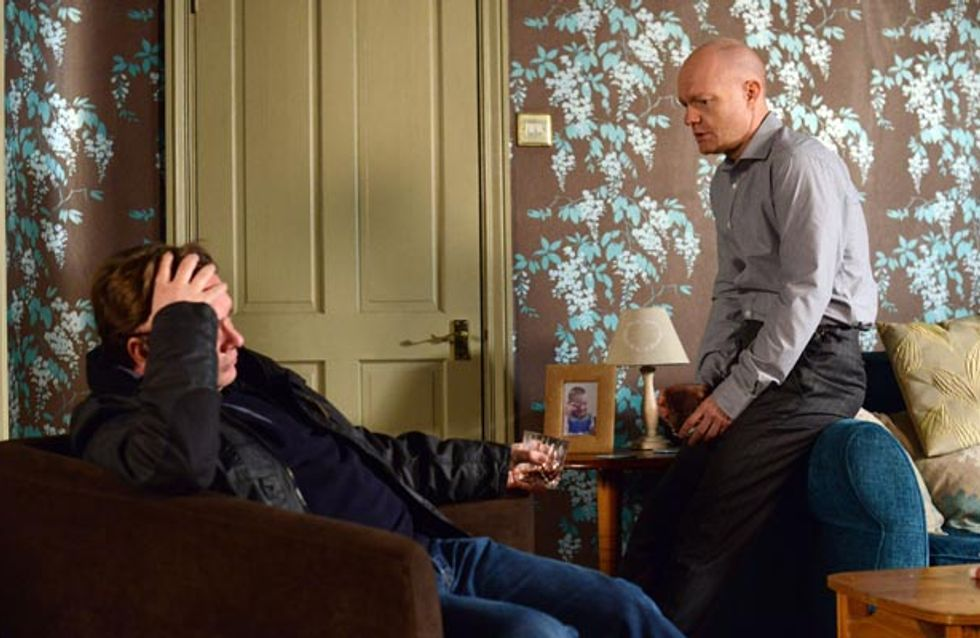 Eastenders 19/05 – Ian makes final preparations for Lucy's funeral