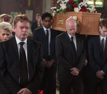 Eastenders 20/05 – It's the day of Lucy's funeral