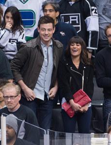 Lea Michele et Cory Monteith