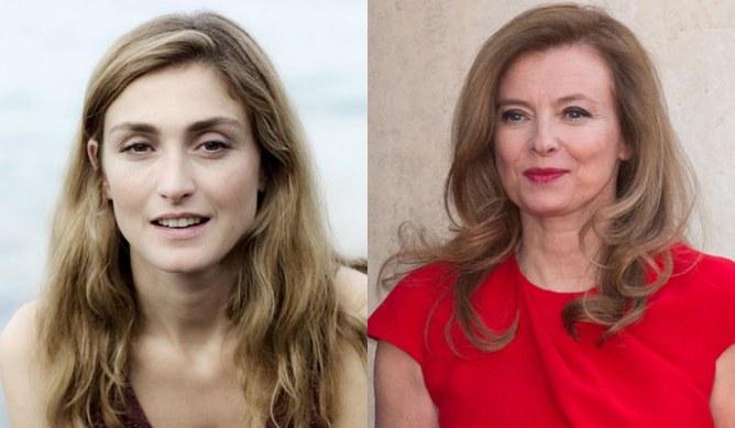 Julie Gayet et Valérie Trierweiler
