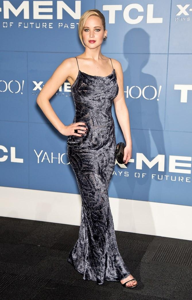 Jennifer Lawrence le 10 mai 2014