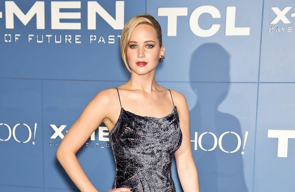 Jennifer Lawrence : Son look décalé pour la première du nouveau X-Men