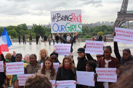 Le rassemblement #BringBackOurGirls à Paris