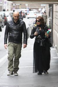 Cristina D'Avena insieme al fidanzato