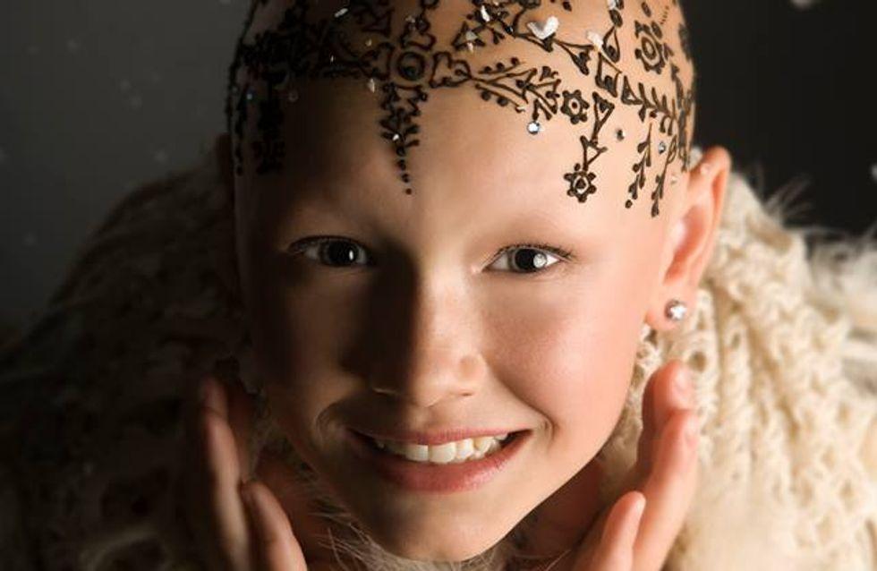 Des tatouages éphémères pour aider les femmes à surmonter la perte de leurs cheveux (Photos)