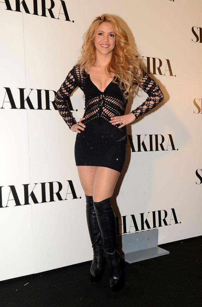 Shakira au mois de mars 2014