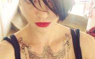 Asia Argento: un nuovo vistoso tatuaggio per la bad girl dall'animo dark. Ecco l