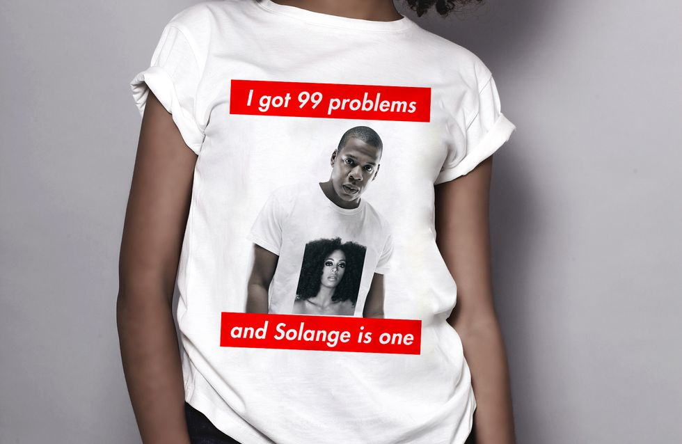 Clash entre Jay Z et Solange Knowles : Le t-shirt à shopper d'urgence