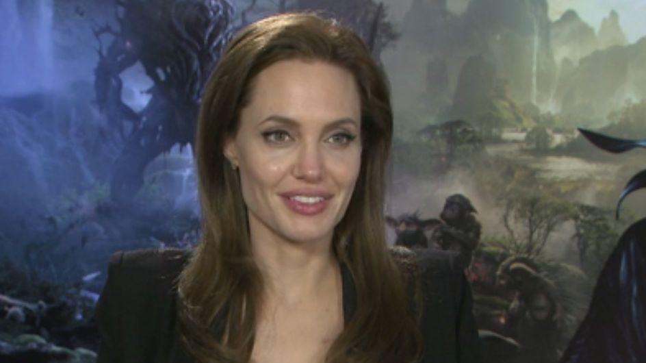 """Angelina Jolie pour Maléfique : """"Ma vie est un conte de fées"""" (Interview exclu)"""