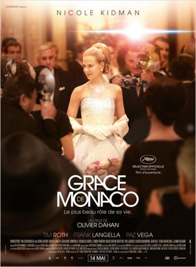 Affiche du film Grace de Monaco d'Olivier Dahan