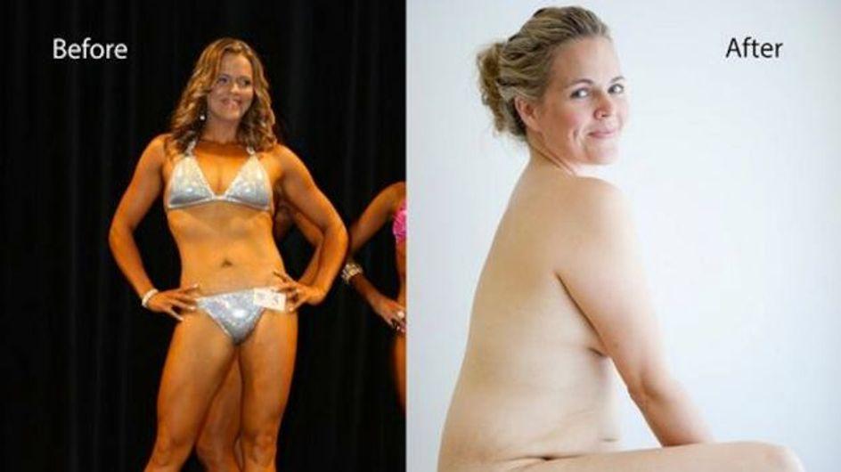 Ancienne bodybuildeuse, elle décide d'assumer ses formes après sa grossesse (Photos)