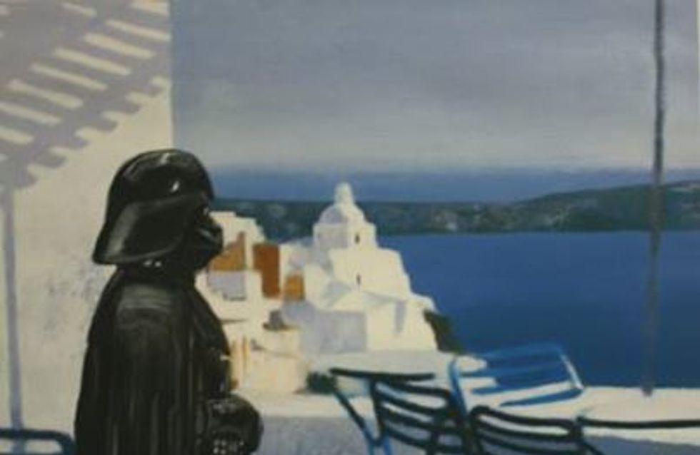 Los personajes de Star Wars, ahora protagonistas de antiguos cuadros al óleo