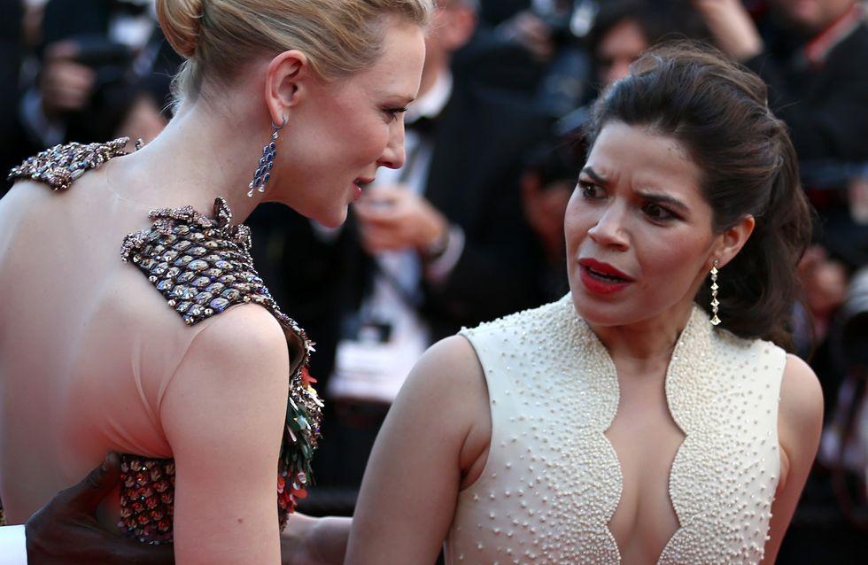 Festivals de Cannes 2014 : Un homme attaque une actrice sur le tapis rouge (Photos)