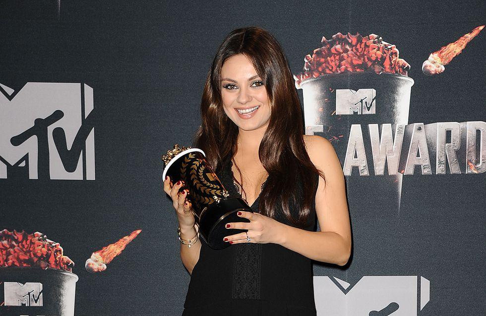 """Mila Kunis : Elle a choisi sa """"doula"""" pour son accouchement naturel"""
