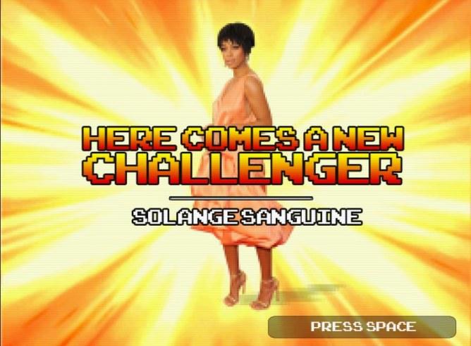 Solange Sanguine, le nouveau personnage de Fruit Fighter