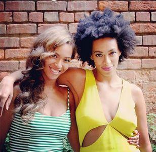 Beyoncé et Solange Knowles