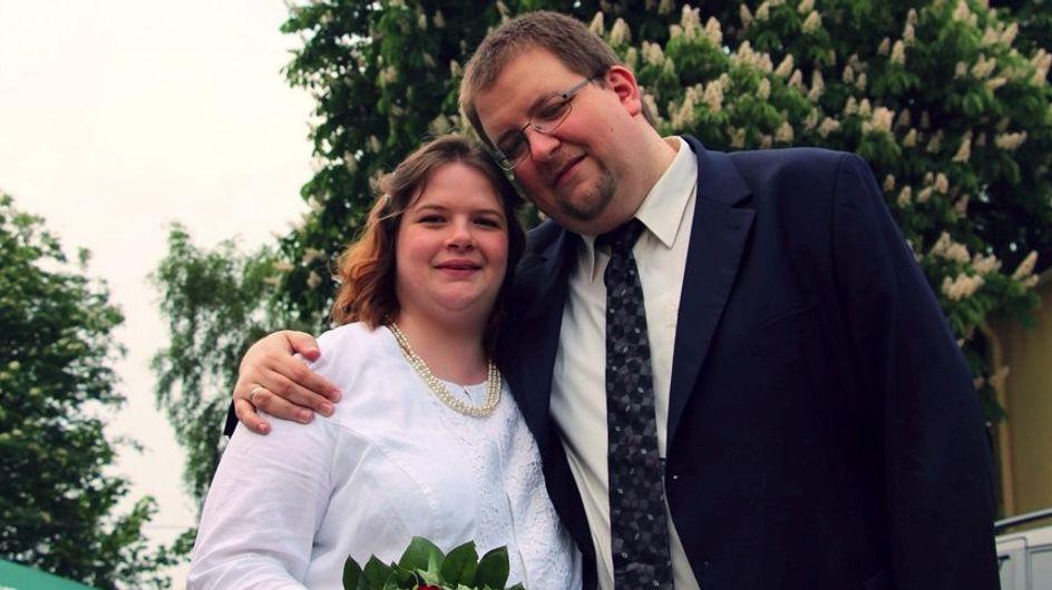 Diese Frau findet sich hässlich. Dann ändert dieses Hochzeitsfoto alles ...