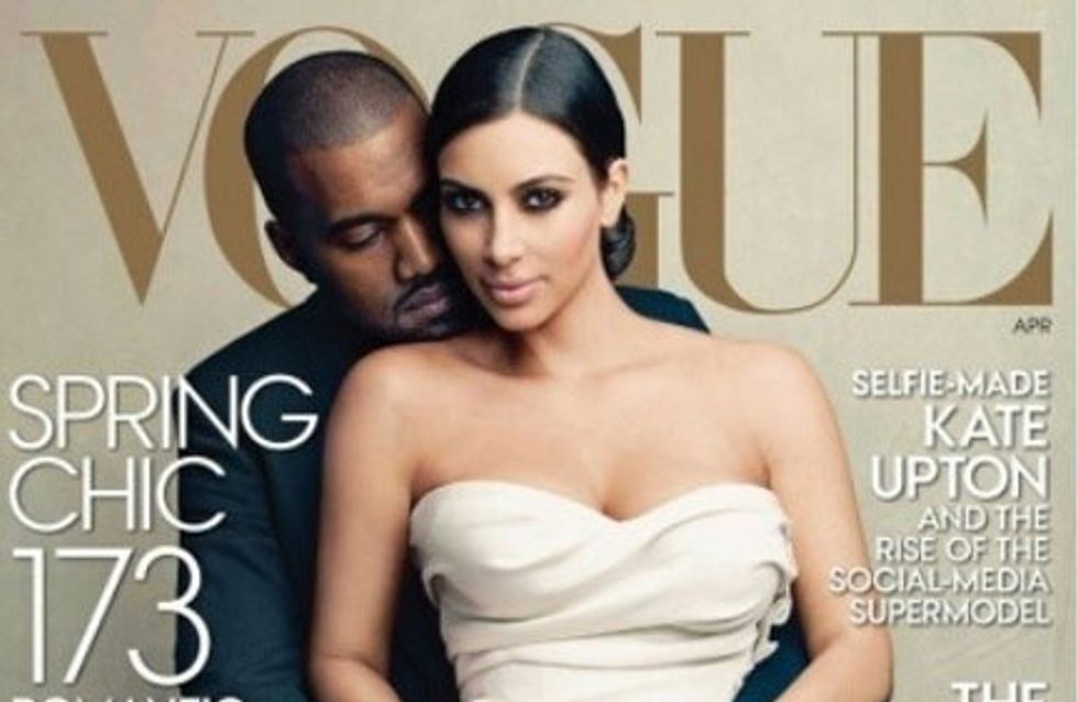 El efecto Kim Kardashian en Vogue: se disparan las ventas de vestidos de novia grises