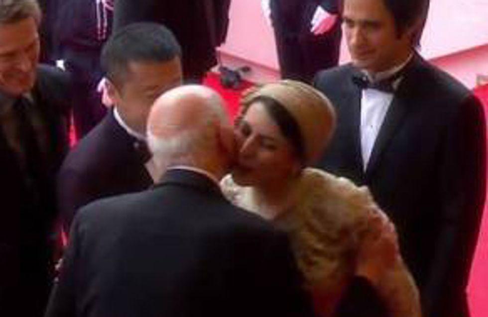 Cannes 2014 : Quand une bise fait scandale (Photo)