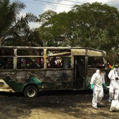 Colombie : Un terrible accident de bus coûte la vie à 31 enfants