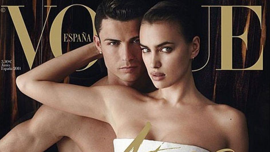 Cristiano Ronaldo posa desnudo junto a Irina Shayk