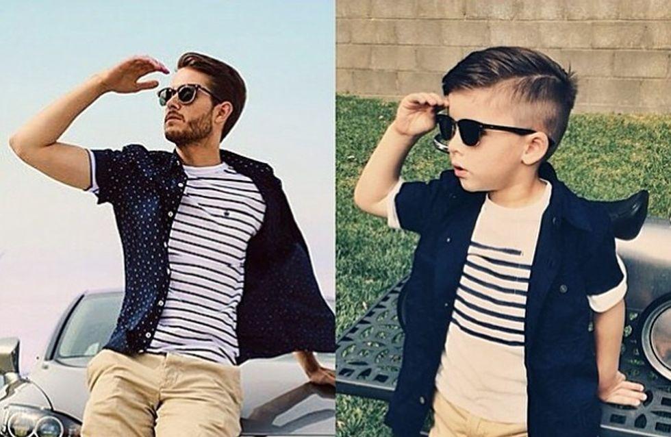 A 4 ans seulement, Ryker Wixom devient une véritable icône de la mode sur Instagram (Photos)