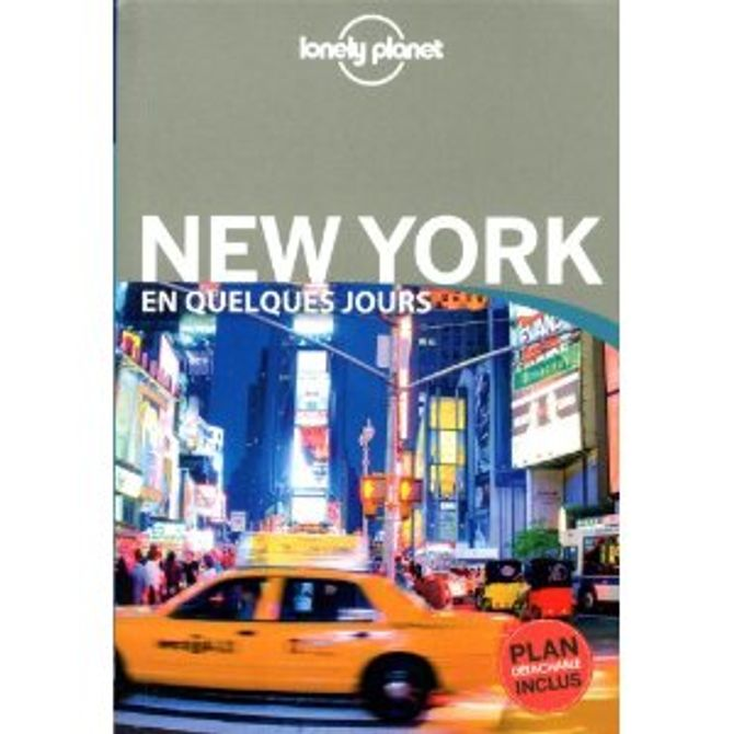 New York en quelques jours, Lonely Planet, 15 $ sur Amazon.