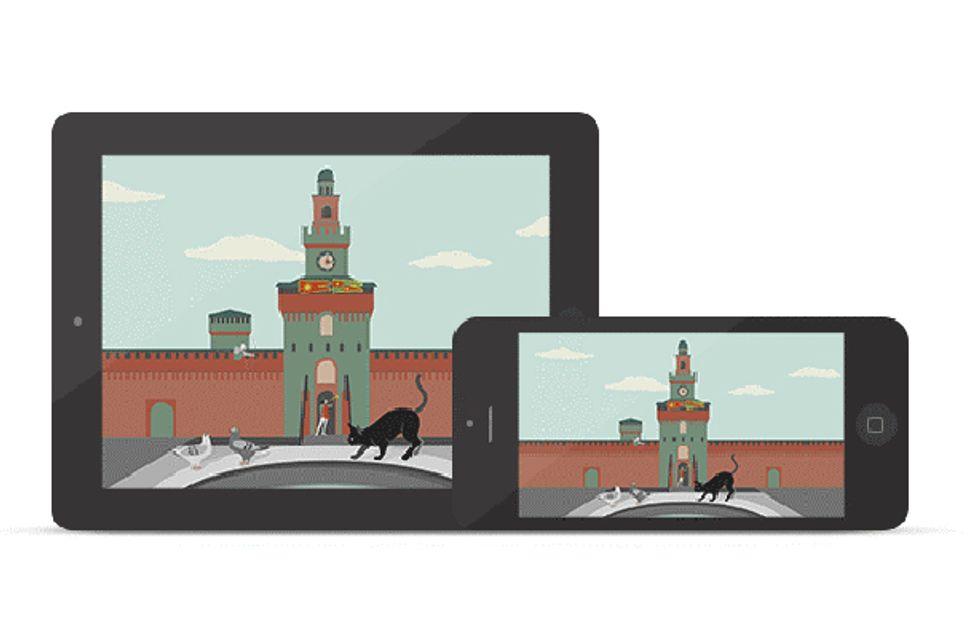 Si racconta così la bellezza dell'Italia ai bambini: con un'app!