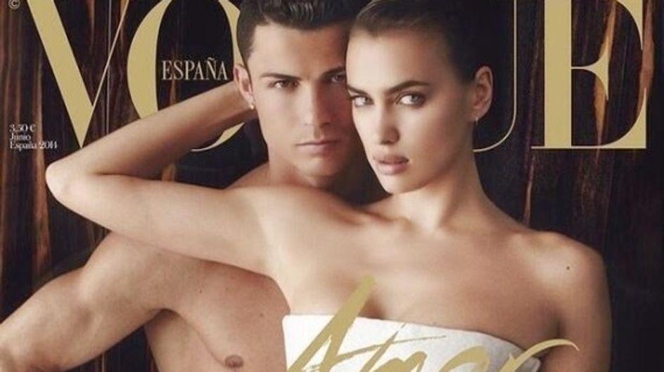 Cristiano Ronaldo : Nu en Une de Vogue avec Irina Shayk (Photo)