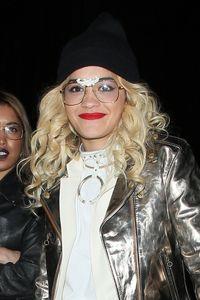 Rita Ora - Oval face shape