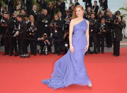 Jessica Chastain à Cannes