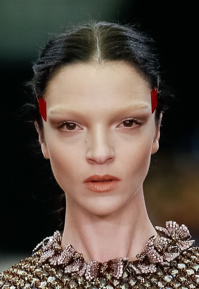 Make-up modeshow Givenchy herfst-winter 2014-2015