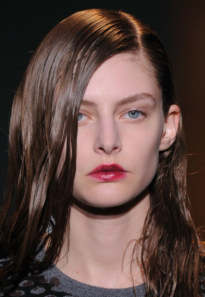 Make-up modeshow Cédric Charlier herfst-winter 2014-2015